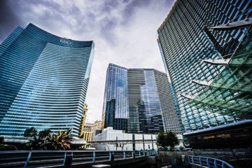 Stunning high rise buildings Las Vegas