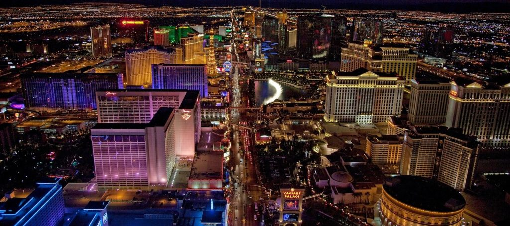 Best high rise buildings on Vegas Strip.