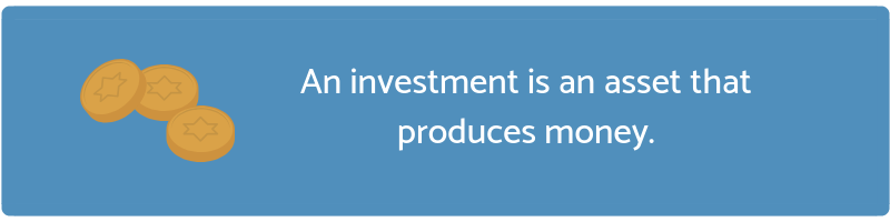A quote about investment