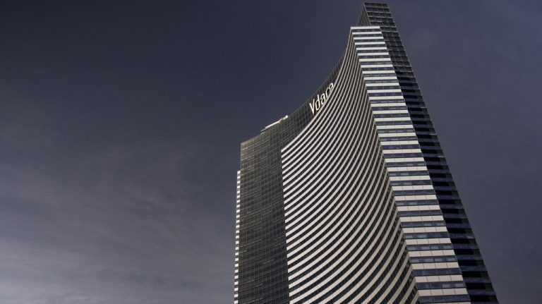 Enjoy 55 floors of high rise living in Vdara.